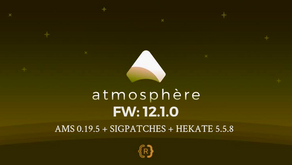 AMS 0.19.5 + HEKATE 5.5.8 + SIGPATCHES PARA FW:12.1.0 O INFERIORES - NINTENDO SWITCH