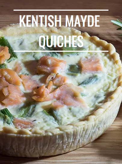 Quiches from Award Winning Kentish Mayde