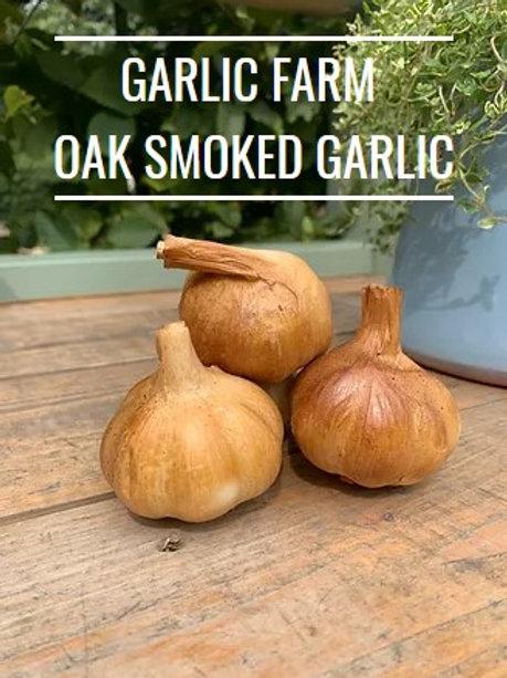 IOW Garlic Farm Oak Smoked Garlic Bulb