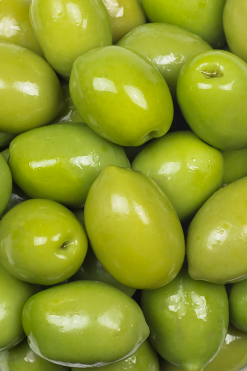 Green Pitted Olives 200g