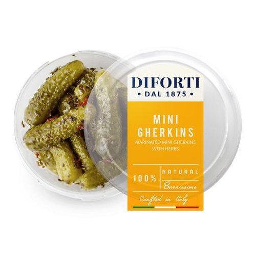 Mini Gherkins with Herbs