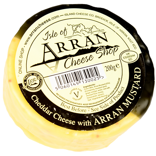 Guest Cheese of the Week - Isle of Arran Mustard Cheddar Truckle