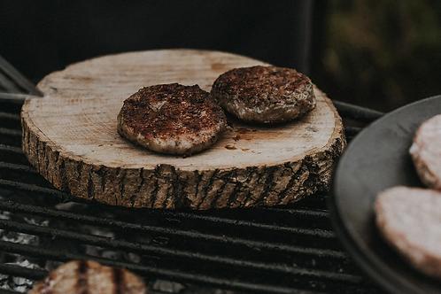Four Gluten Free Steak Burgers