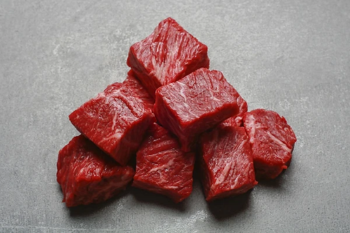 Diced 500g Sussex Beef Paley Farm Kent