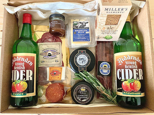 Cheese, Charcuterie & Cider Gift Set