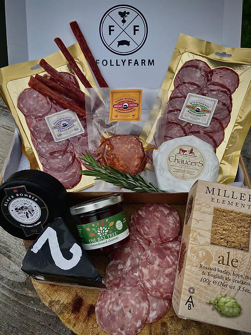 Classic Charcuterie & Cheese