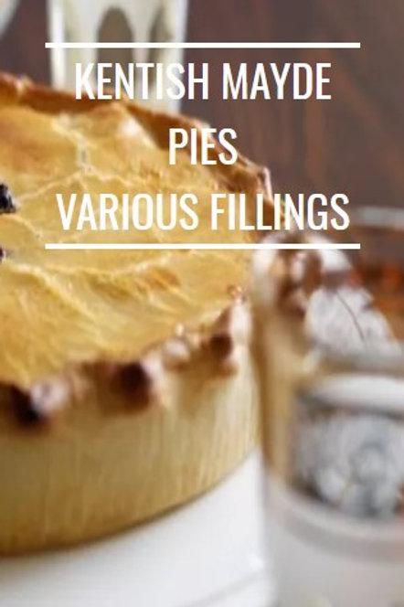 A Range of Award Winning Kentish Mayde Pies