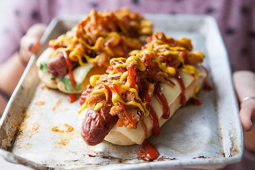 Hot Dog Feasting Box