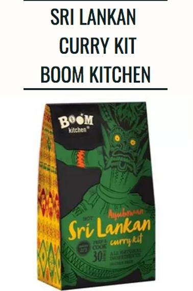 Sri Lankan Curry Kit Boom Kitchen