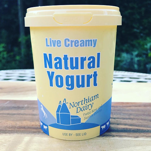 Northiam Dairy Natural Yogurt 500ml