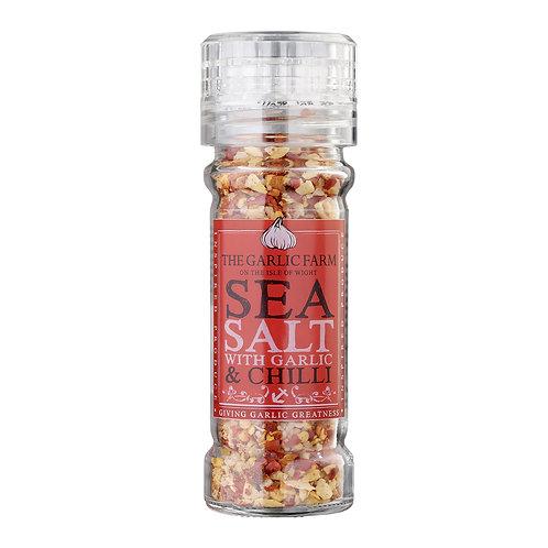 IOW Garlic Farm, Sea Salt with Garlic & Chilli