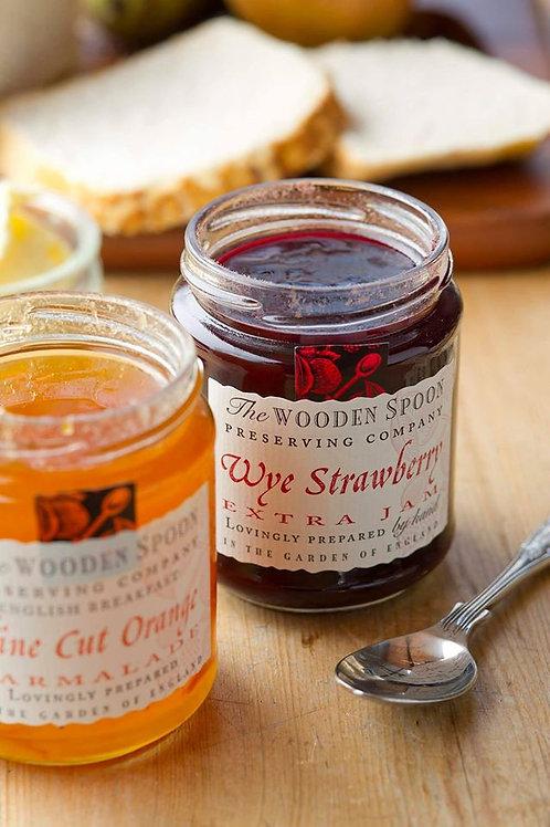 A Range of Wooden Spoon Jams
