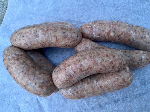 The Folly Pork & Kentish Hop Sausages