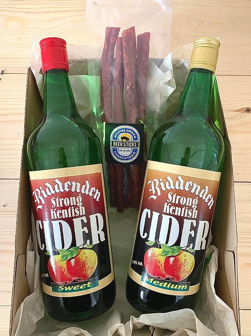 Cider and Sticks