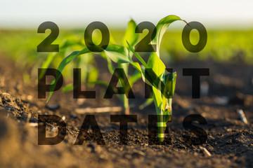 2020 PLANTING DATES