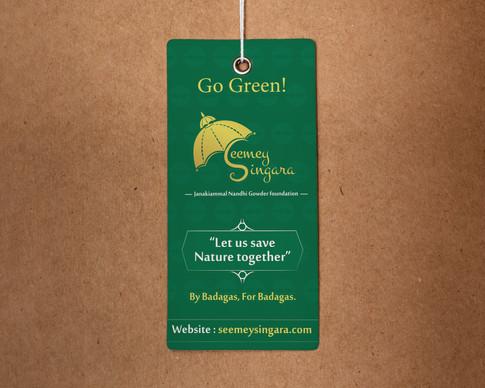 Save Nilgiris Tag Design