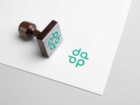 student consultancy branding rubberstamp