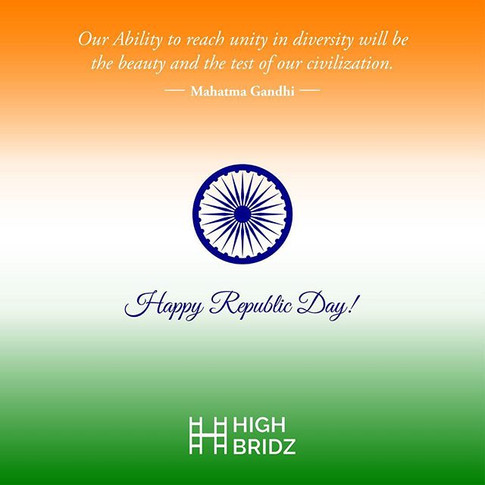 Republic Day Poster Design done by High Bridz