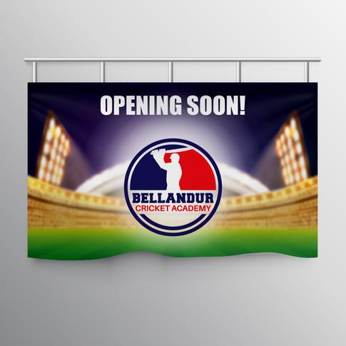 Sports advertising design