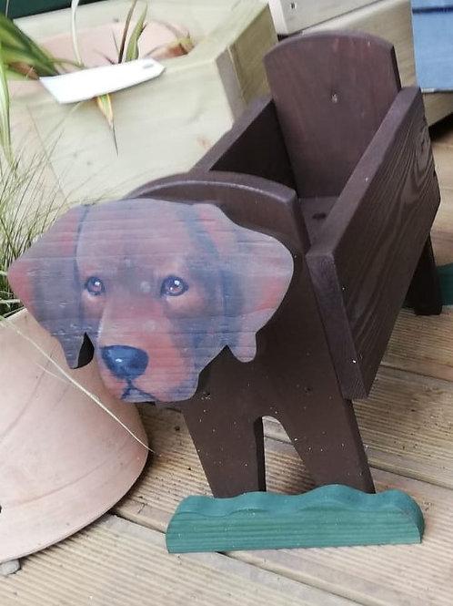 Labrador Animal Planter