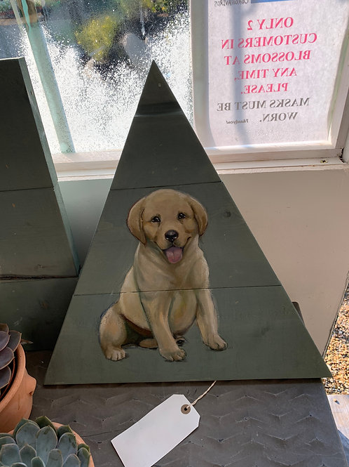 Garden Art - dog