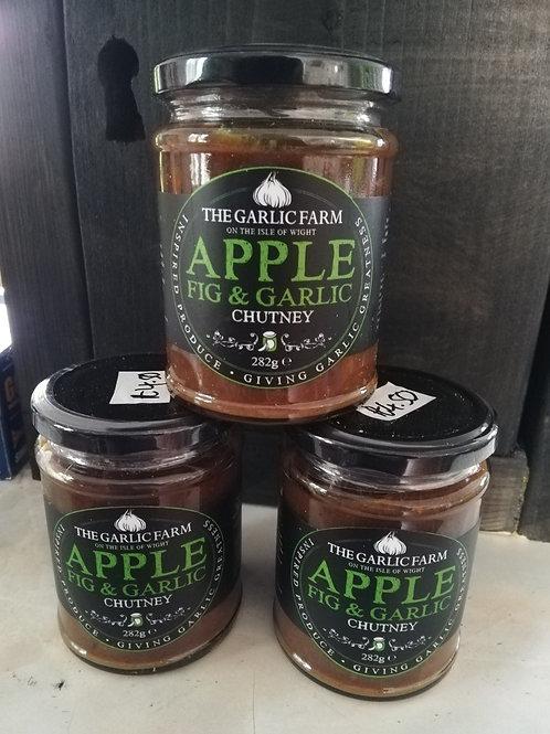 Apple, Fig & Garlic chutney 282g