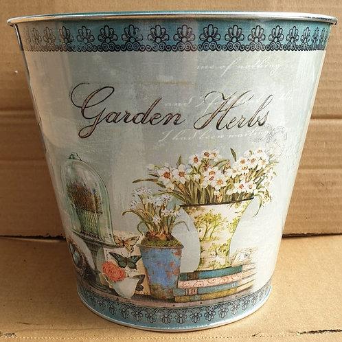 Spring pail - Garden herbs