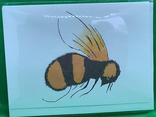 Card (single) - Bee