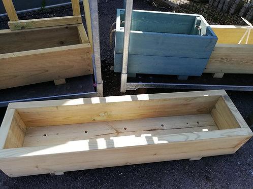 Long Wooden trough