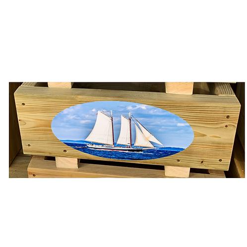 Wooden trough - Yacht