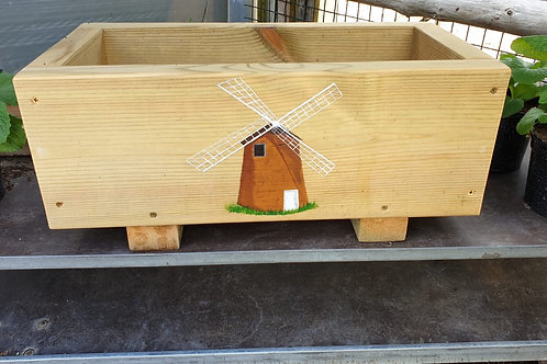 Wooden trough - Windmill
