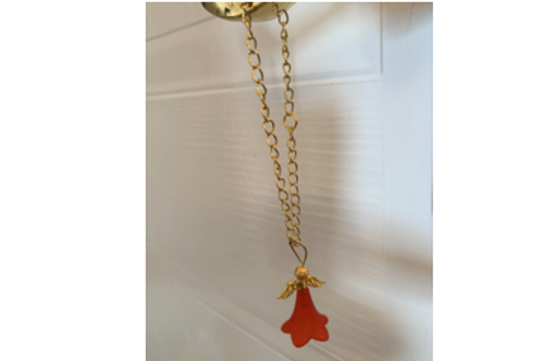 Red Angel (hanging decoration)