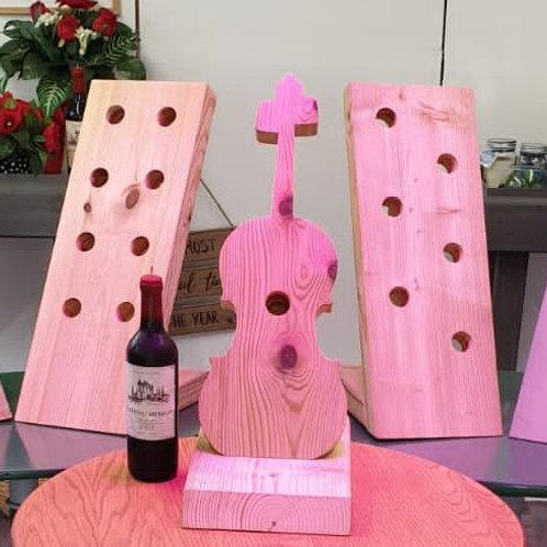 Violin Wine rack