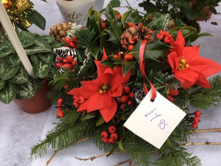 We also do table decorations as well as wreaths.