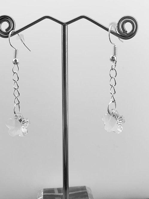 April earrings - Swarovski® - Crystal