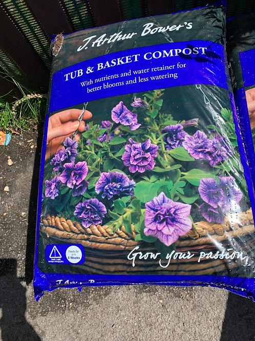 50 ltr tub & basket compost