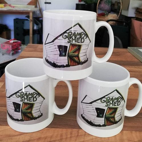 Grampy's Shed  Mugs
