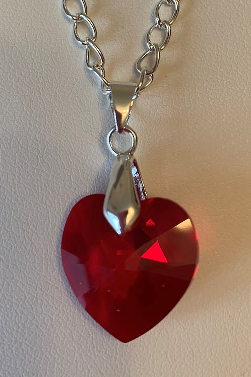January pendant necklace - Swarovski® - Siam