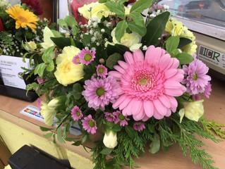 This weeks beautiful flower arrangements