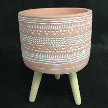 Mayan Pot Pink 14cm