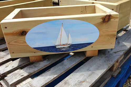 Wooden trough - Yacht