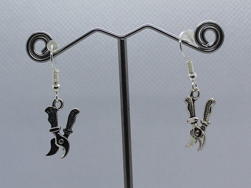 Secateurs Earrings