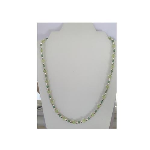 Aventurine & Grape Chalcedony necklace