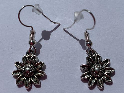 Flower Head Earrings