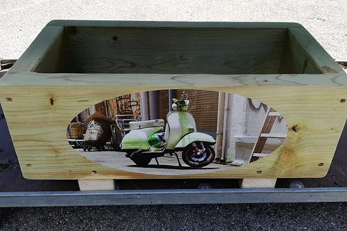Wooden trough - Scooter