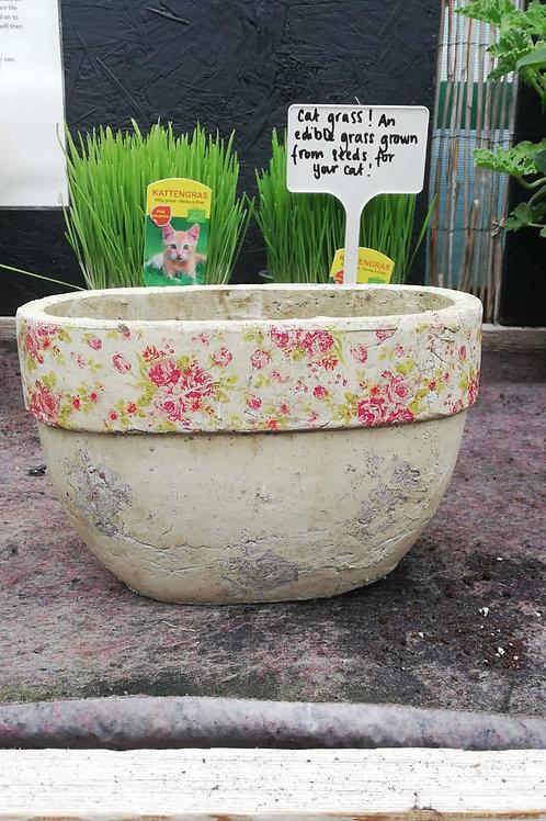 Oval Pot