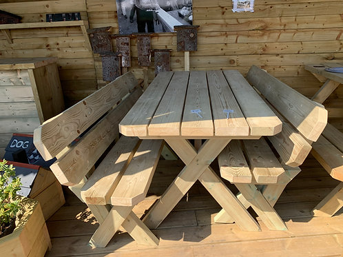 Table and bench set - Pre order for delivery in 6 - 8 weeks