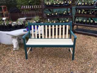 If you are looking for a nice bench for your garden, look no further.