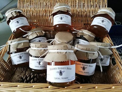 Island Honey Bees Honey 1Lb jar