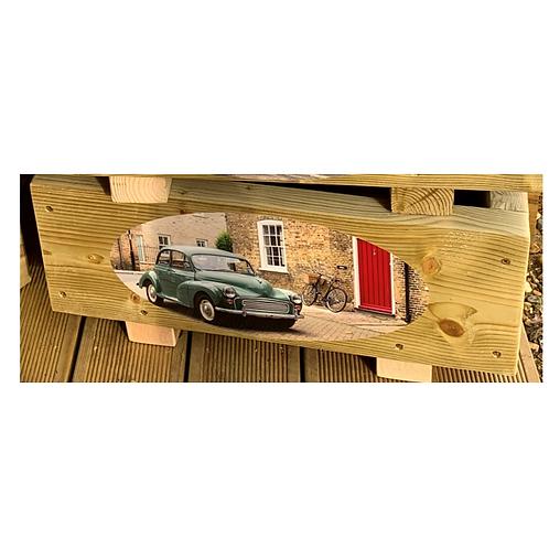 Wooden trough - Car